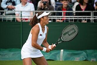 Ai Sugiyama - Sugiyama at the 2009 Wimbledon Championships