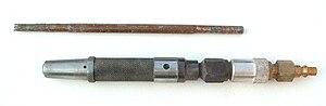 Air hammer (fabrication) - Image: Air hammer Cuturi E type