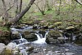 Aira Force waterfall in the Lake District (34093477122).jpg