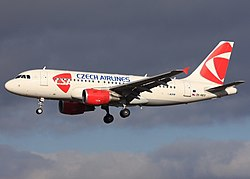 Airbus A320-200 der Czech Airlines
