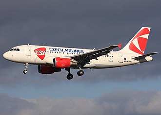 Czech Airlines - Czech Airlines Airbus A319-100
