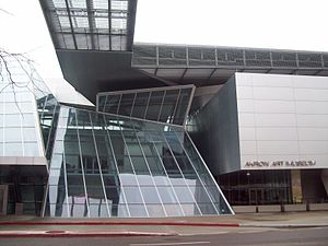 Akron Art Museum - Frontal view of the Akron Art Museum