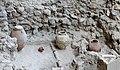 Akrotiri Archeological Excavation Pithoi store room 06.jpg