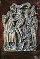 Alabaster panel of The Descent from the Cross, Selby Abbey.jpg