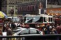 Alain Robert ascend of New York Times Building - 13 - 40th & 8th - aftermath of Renaldo Clarke climb.jpg