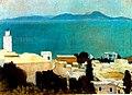 Albert Marquet, 1923 - Minaret à Sidi Bou Saïd.jpg