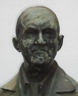 Alberto da Veiga Guignard - Bust of Alberto Guignard at the Escola Guignard, Belo Horizonte