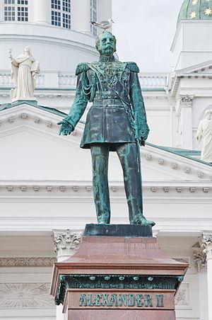Helsinki Senate Square - Alexander II
