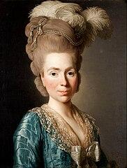 Portrait of Princess Natalia Petrovna Golitsyn, born Tjernysjev