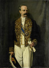 Alexander Willem Frederik Idenburg (1861-1935). Governor-General (1909-16)