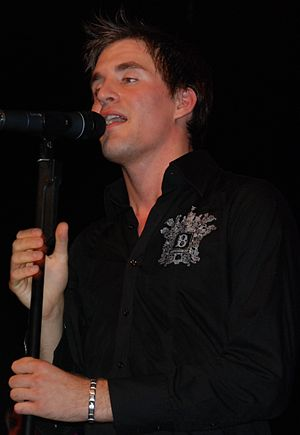 Deutschland sucht den Superstar - Debut season winner Alexander Klaws in 2008.