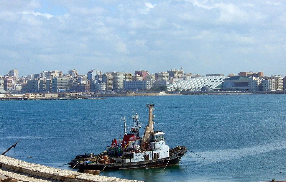 Alexandria harbour (February 2007)
