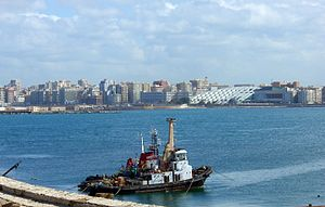 Alexandria harbour (February 2007)