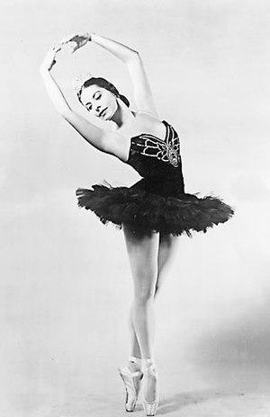 Alicia Alonso - Image: Alicia Alonso 1955
