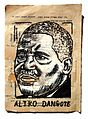 Aliko Dangote Painting Collage By Danor Shtruzman.jpg