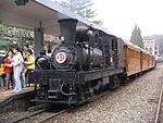 Alishan station with Steam train.JPG