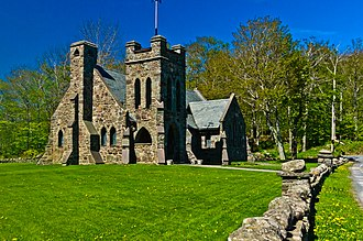 National Register of Historic Places listings in Greene County, New York - Image: All souls church tannersville ny 8052