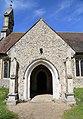 All Saints' Church, High Roding, Essex, England - south porch.jpg