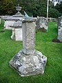 All Saints Church, Grinshill, Sundial - geograph.org.uk - 590893.jpg