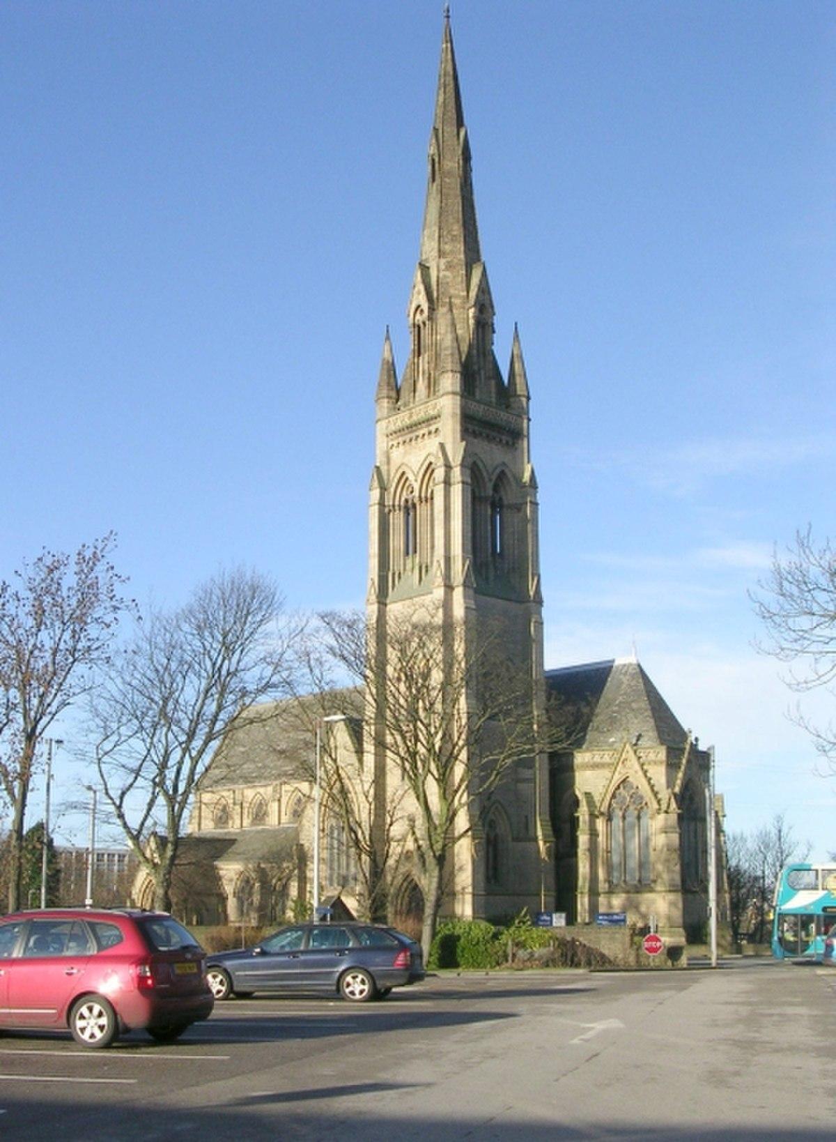 All Saints Church - Little Horton Lane - geograph.org.uk - 1088637.jpg