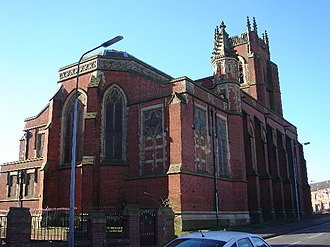 Grade II* listed buildings in Greater Manchester - Image: All Souls Church, Bolton
