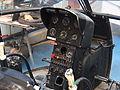 Alouette II cockpit, Musée de l'Epopée de l'Industrie et de l'Aéronautique, pic 3.jpg