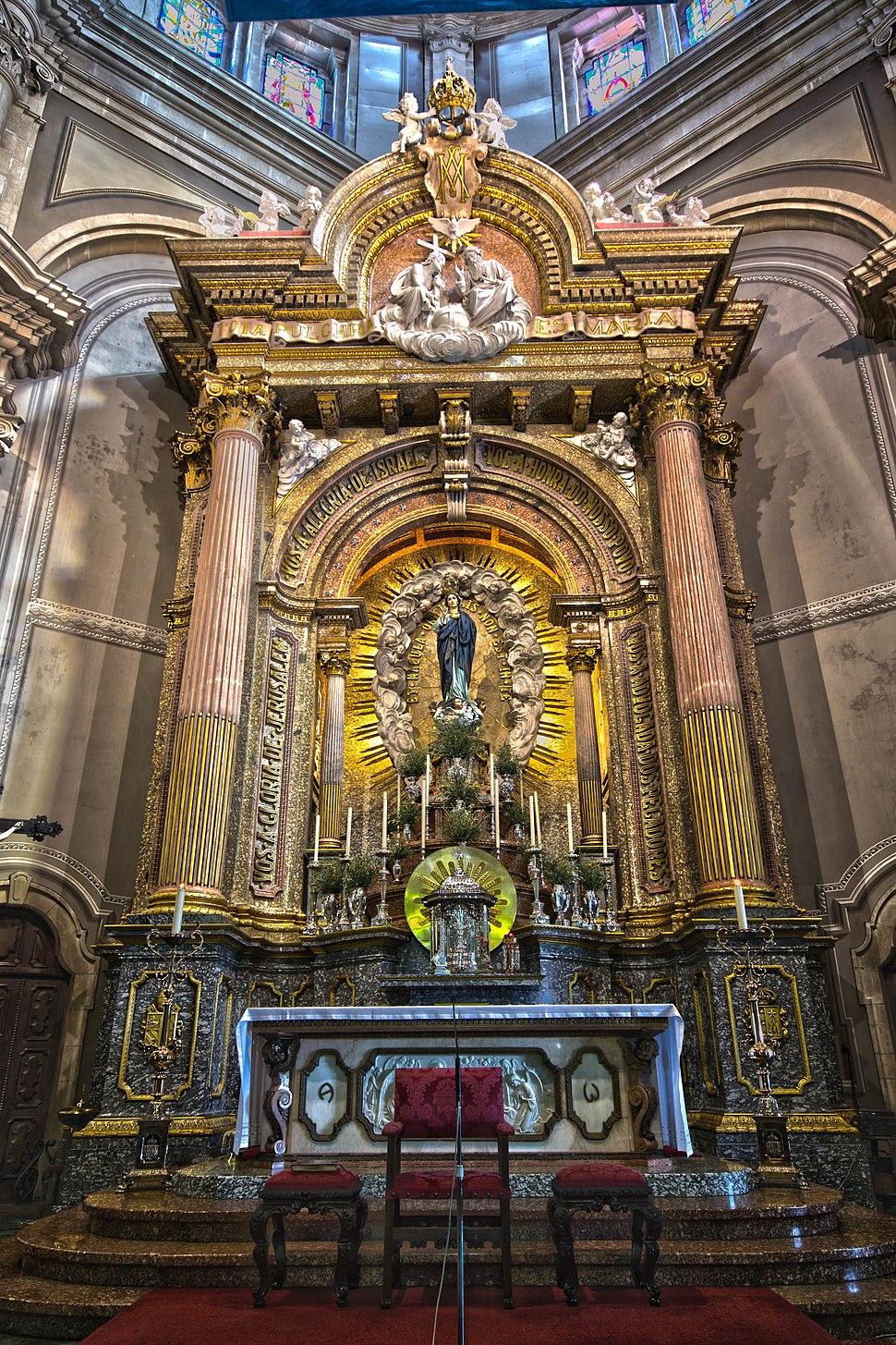 Altar da Igreja de Nossa Senhora do Sameiro