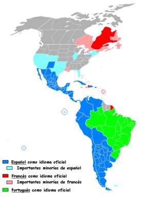 lenguas romances en america