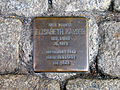 Am Heiligen Kreuz 8, Celle, Stolperstein Elisabeth Kayser, 1870 geborene Stern, deportiert 1942, Theresienstadt, tot 1943.jpg