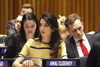 Amal Clooney - Clooney in 2018