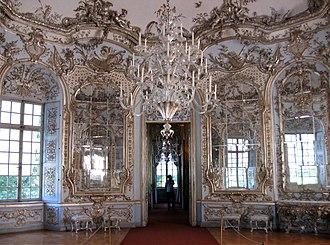 Amalienburg - Interior, Hall of Mirrors