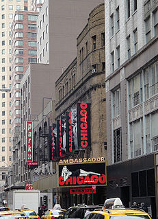 Broadway theater and former movie theater in Midtown, Manhattan, New York City, United States
