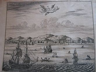 Anglo-Dutch Wars - Dutch factory at Ambon, early to mid-17th century