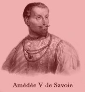 Amadeus V, Count of Savoy