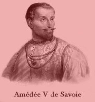 Amadeus V, Count of Savoy - Image: Amedee v desavoie