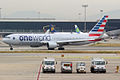 American Airlines (Oneworld Livery), N343AN, Boeing 767-323 ER (16456588015).jpg