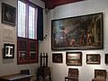 Amsterdam - Rembrandthuis - room with paintings.JPG