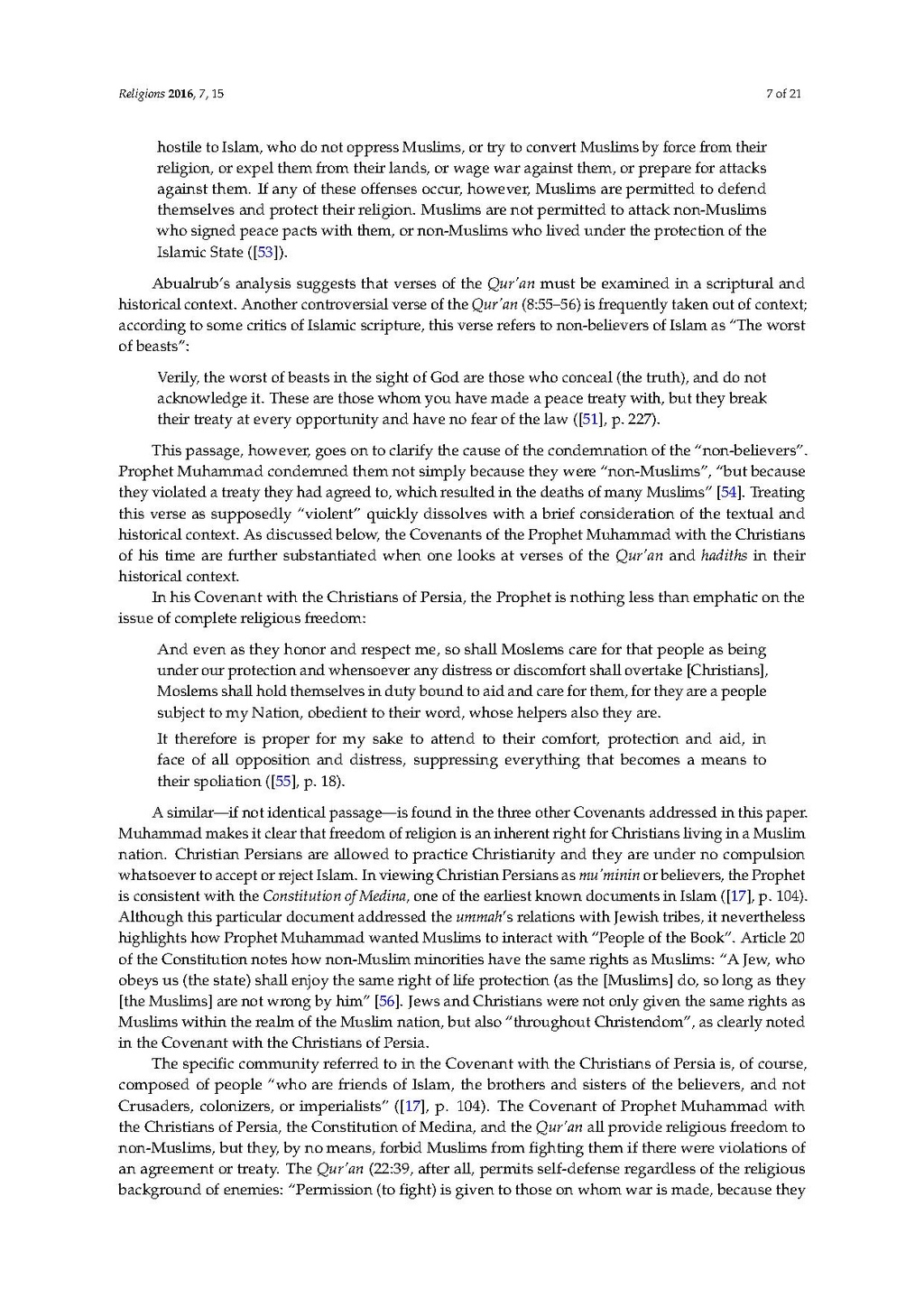 Page:An Analysis of Prophet Muhammad's Covenants with Christians pdf