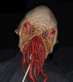 Planet of the Ood - One of the Red-Eye Ood, on display at the Doctor Who Experience.