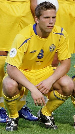 Anders Svensson is Sweden's most capped player of all time, with 148 appearances for the national team.