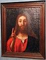 Andrea previtali (copia da), cristo benedicente, xvi secolo 01.JPG