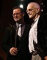Andreas Beck und Gert Jonke, Nestroy-Theaterpreis 2008.jpg