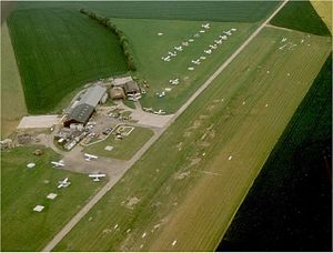 Andrewsfield Airport from the air in 1991.jpg