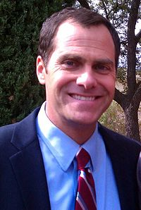Andy Buckley Andy Buckley filming at Texas State University (cropped).jpg