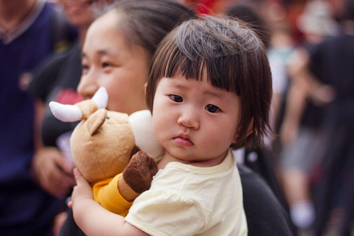Reason behind child's cuteness
