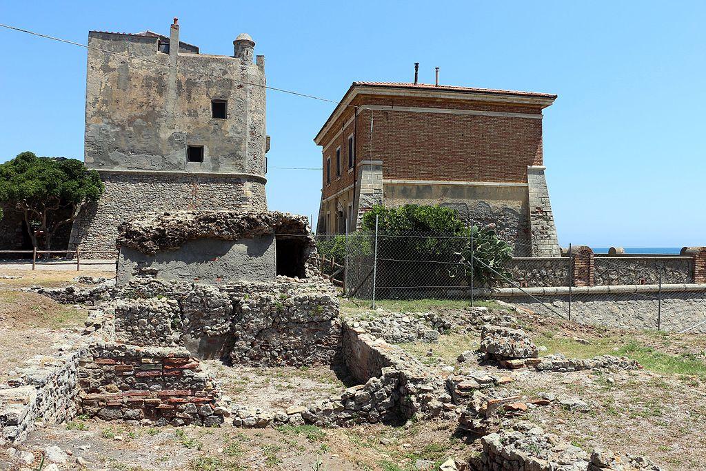 Ansedonia, Torre e forte della Tagliata 03