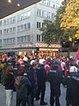 Anti-PKK protest in Frankfurt, Germany on Zeil 10.jpg