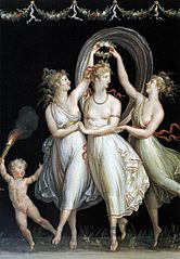 Three dancing graces