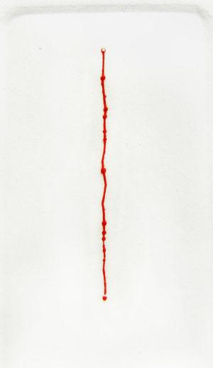 Antonio Papasso - folio n°2-rhythm- of Re/spira (Breathe) 1982 etching in color-collection MoMA