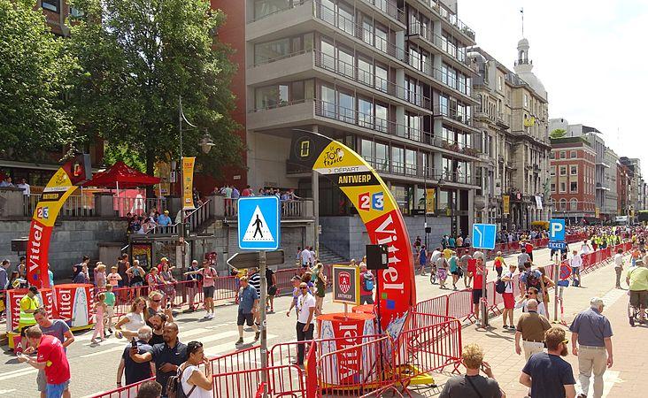 Antwerpen - Tour de France, étape 3, 6 juillet 2015, départ (289).JPG